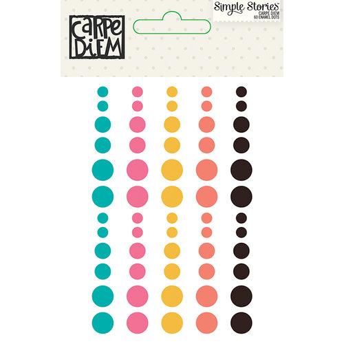 Simple Stories - Carpe Diem - Enamel Dots