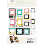 Simple Stories - Carpe Diem Collection - Chipboard Frames