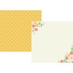 Simple Stories - Posh Collection - 12 x 12 Double Sided Paper - Choose Happy
