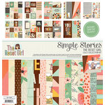 Simple Stories - The Reset Girl Collection - 12 x 12 Collection Kit