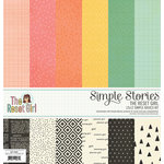 Simple Stories - The Reset Girl Collection - 12 x 12 Simple Basics Kit