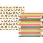 Simple Stories - The Reset Girl Collection - 12 x 12 Double Sided Paper with Foil Accents - Pencil It In