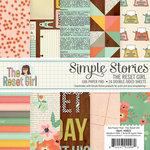 Simple Stories - The Reset Girl Collection - 6 x 6 Paper Pad