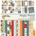Simple Stories - Hello Fall Collection - 12 x 12 Collection Kit