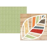 Simple Stories - Hello Fall Collection - 12 x 12 Double Sided Paper - Celebrate Fall