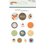 Simple Stories - Hello Fall Collection - Decorative Brads