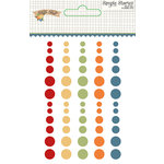 Simple Stories - Hello Fall Collection - Enamel Dots