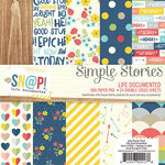 Simple Stories - Life Documented Collection - 6 x 6 Paper Pad