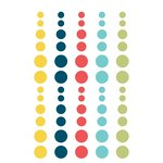 Simple Stories - Life Documented Collection - Enamel Dots