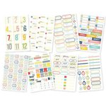 Simple Stories - Life Documented Collection - Cardstock Stickers - Label