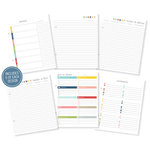 Simple Stories - SNAP Collection - 6 x 8 Journal Inserts - Life Documented - Basic Planner