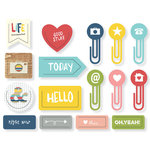 Simple Stories - Life Documented Collection - Decorative Clips