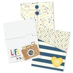 Simple Stories - SNAP Collection - 6 x 8 Envelope and Pocket Inserts - Life Documented