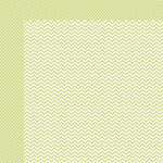 Simple Stories - SNAP Color Vibe Collection - Lights - 12 x 12 Double Sided Paper - Celery