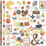 Simple Stories - Bloom and Grow Collection - 12 x 12 Cardstock Stickers - Fundamentals