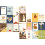 Simple Stories - Bloom and Grow Collection - 12 x 12 Double Sided Paper - 3 x 4 Journaling Card Elements