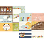 Simple Stories - Bloom and Grow Collection - 12 x 12 Double Sided Paper - 4 x 6 Horizontal Journaling Elements