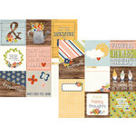 Simple Stories - Bloom and Grow Collection - 12 x 12 Double Sided Paper - 4 x 4 and 4 x 6 Vertical Journaling Elements