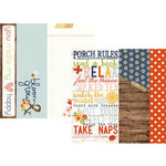 Simple Stories - Bloom and Grow Collection - 12 x 12 Double Sided Paper - 2 x 12, 4 x 12 and 6 x 12 Elements