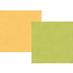 Simple Stories - Bloom and Grow Collection - 12 x 12 Double Sided Paper - Green Dot