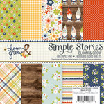 Simple Stories - Bloom and Grow Collection - 6 x 6 Paper Pad