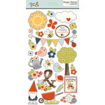 Simple Stories - Bloom and Grow Collection - Chipboard Stickers