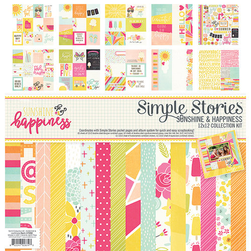 Simple Stories - Sunshine and Happiness Collection - 12 x 12 Collection Kit