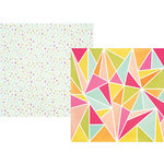 Simple Stories - Sunshine and Happiness Collection - 12 x 12 Double Sided Paper - High Five