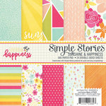 Simple Stories - Sunshine and Happiness Collection - 6 x 6 Paper Pad