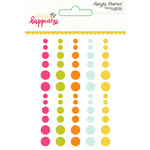 Simple Stories - Sunshine and Happiness Collection - Enamel Dots
