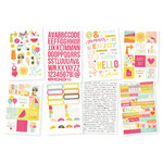 Simple Stories - Sunshine and Happiness Collection - Cardstock Stickers