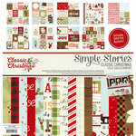 Simple Stories - Classic Christmas Collection - 12 x 12 Collection Kit with Foil Accents