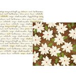 Simple Stories - Classic Christmas Collection - 12 x 12 Double Sided Paper with Foil Accents - Tis the Season