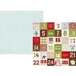 Simple Stories - Classic Christmas Collection - 12 x 12 Double Sided Paper - 2 x 2 Elements