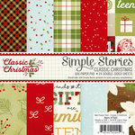Simple Stories - Classic Christmas Collection - 6 x 6 Paper Pad