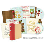Simple Stories - SNAP Collection - 6 x 8 Journal Insert Pages with Foil Accents - Classic Christmas