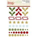 Simple Stories - Classic Christmas Collection - Enamel Dots and Shapes
