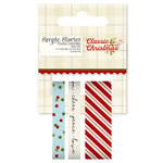 Simple Stories - Classic Christmas Collection - Washi Tape