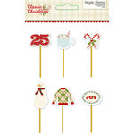 Simple Stories - Classic Christmas Collection - Decorative Clips