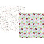 Simple Stories - Mistletoe Kisses Collection - Christmas - 12 x 12 Double Sided Paper - Holly Jolly