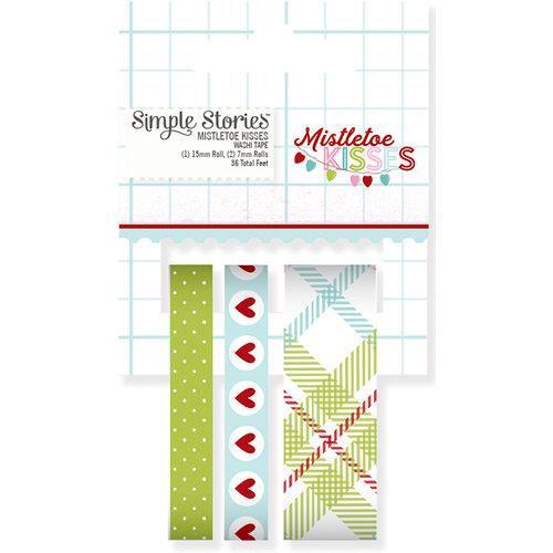 Simple Stories - Mistletoe Kisses Collection - Christmas - Washi Tape