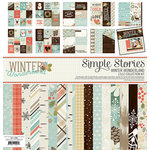 Simple Stories - Winter Wonderland Collection - 12 x 12 Collection Kit