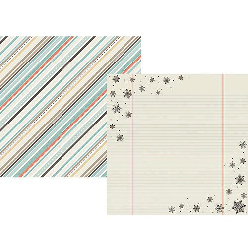 Simple Stories - Winter Wonderland Collection - 12 x 12 Double Sided Paper - Frostbite