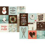 Simple Stories - Winter Wonderland Collection - 12 x 12 Double Sided Paper - 4 x 4 and 4 x 6 Vertical Journaling Elements
