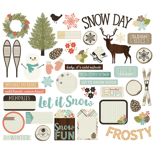 Simple Stories - Winter Wonderland Collection - Bits and Pieces
