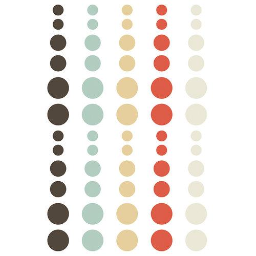Simple Stories - Winter Wonderland Collection - Enamel Dots