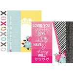Simple Stories - Love and Adore Collection - 12 x 12 Double Sided Paper - 2 x 12, 4 x 12 and 6 x 12 Elements