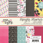 Simple Stories - Love and Adore Collection - 6 x 6 Paper Pad