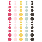 Simple Stories - Love and Adore Collection - Enamel Dots