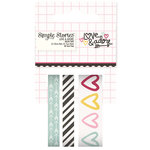 Simple Stories - Love and Adore Collection - Washi Tape